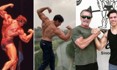 Arnold Schwarzenegger son Joseph Baena